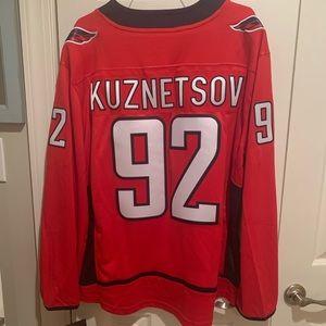 Washington Capitals Hockey Jersey - Kuznetsov